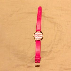 Pink watch, water resistant
